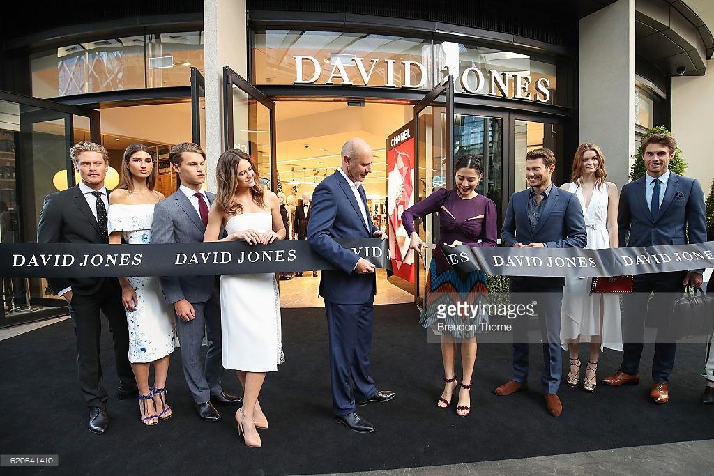 new concept boutique store for david jones in brisbane